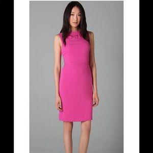 Tory Burch sleeveless dress pink above knee mini